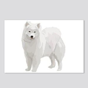 Beautiful Samoyed Postcards (Package of 8)