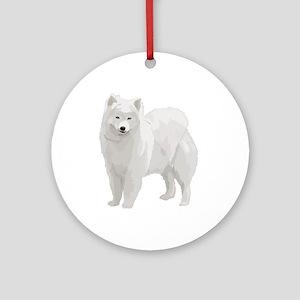 Beautiful Samoyed Ornament (Round)