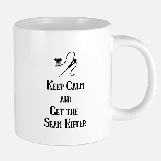 Get the Seam Ripper Stainless Steel Travel Mugs