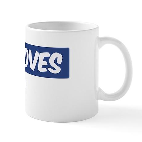 Jesus Loves Levi Mug