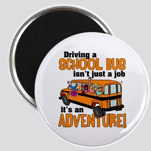 Driving a School Bus Magnet