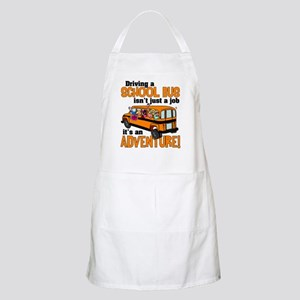 Driving a School Bus BBQ Apron