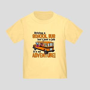 Driving a School Bus Toddler T-Shirt