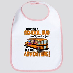 Driving a School Bus Bib