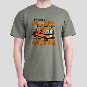 Driving a School Bus Dark T-Shirt