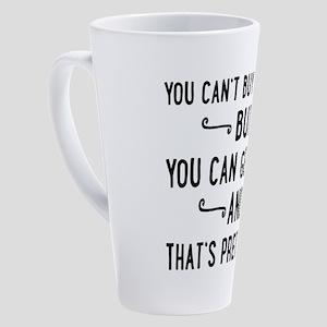 dog 17 oz Latte Mug