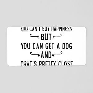 dog Aluminum License Plate