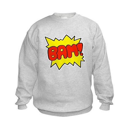 Comic 'Bam!' Kids Sweatshirt