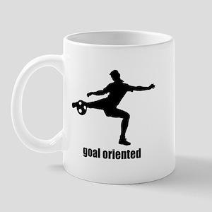 Goal Oriented Soccer Mug
