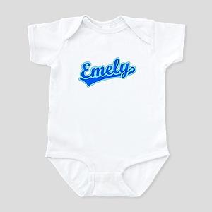 Retro Emely (Blue) Infant Bodysuit