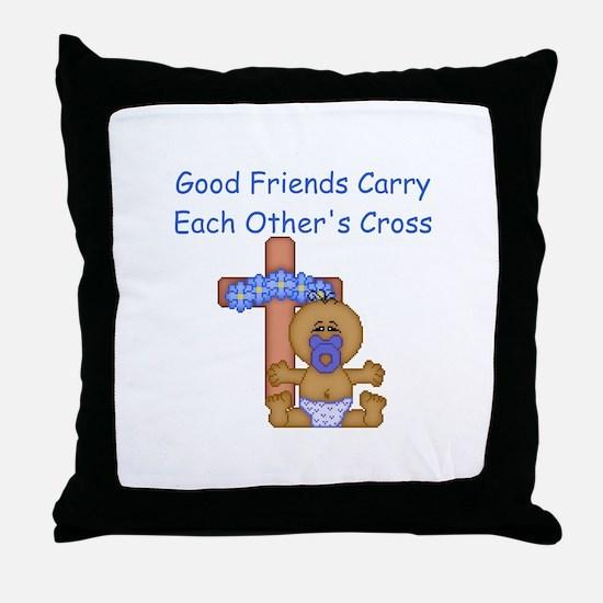 Good Friends... Throw Pillow