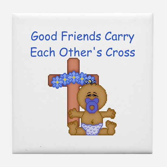 Good Friends... Tile Coaster