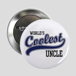 """World's Coolest Uncle 2.25"""" Button"""
