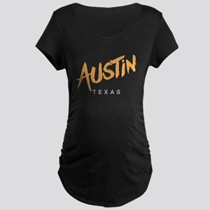 Austin Texas Maternity T-Shirt