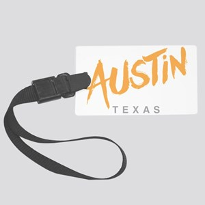 Austin Texas Large Luggage Tag