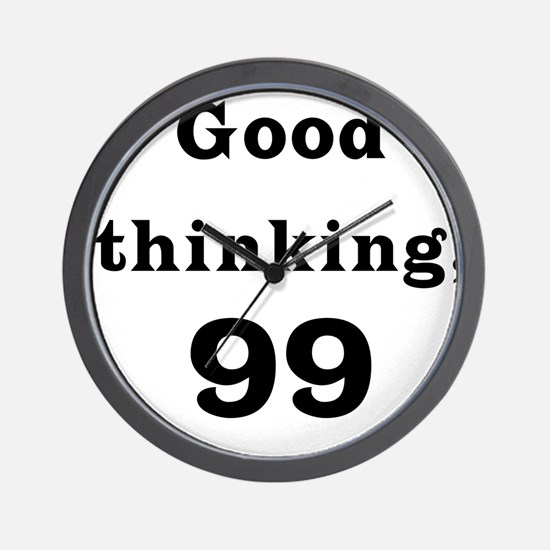 Good Thinking 99 Wall Clock
