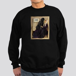 Whistler's Mother & Newfie Sweatshirt