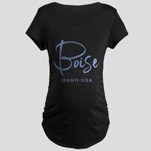 Boise Idaho Maternity T-Shirt