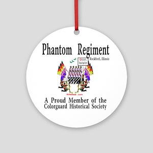 Phantom Regiment Ornament (Round)