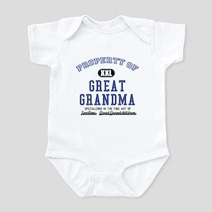 Property of Great Grandma Infant Bodysuit