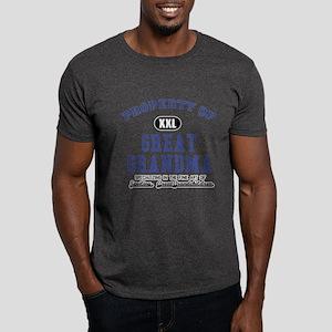 Property of Great Grandma Dark T-Shirt