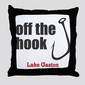 Off the Hook Throw Pillow
