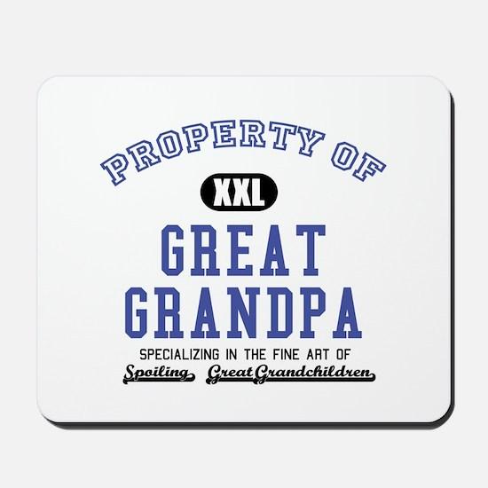Property of Great Grandpa Mousepad