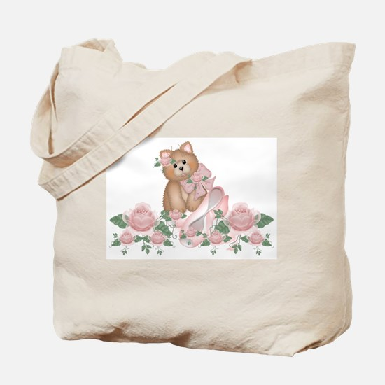 Everything's Rosy Kitty Cat Tote Bag