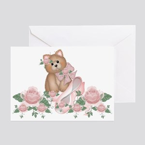 Everything's Rosy Kitty Cat Greeting Cards (Packag