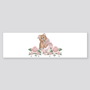 Everything's Rosy Kitty Cat Bumper Sticker