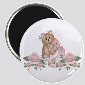 Everything's Rosy Kitty Cat Magnet