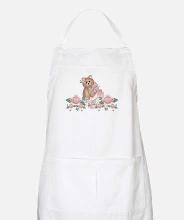 Everything's Rosy Kitty Cat BBQ Apron