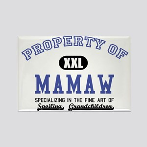 Property of Mamaw Rectangle Magnet