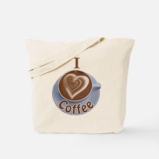 I Heart Coffee Tote Bag
