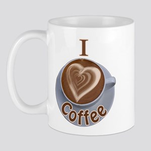I Heart Coffee Mug