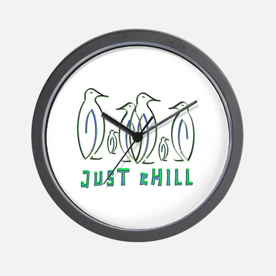 Just Chill Wall Clock
