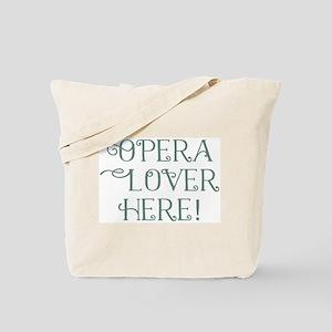 Opera Lover Tote Bag