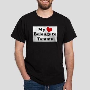 My Heart: Tommy Ash Grey T-Shirt