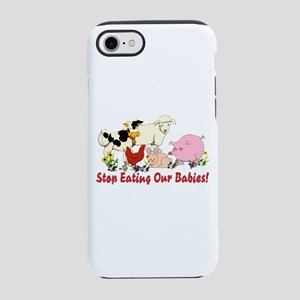 Stop Eating Our Babies iPhone 8/7 Tough Case
