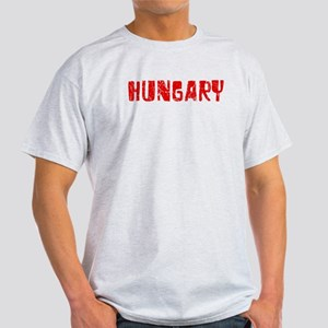 Hungary Faded (Red) Light T-Shirt