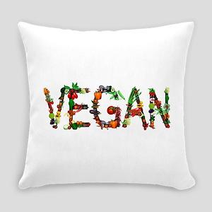 Vegan Vegetables Everyday Pillow