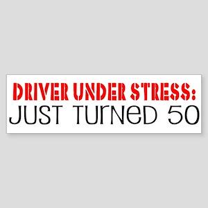 50th Birthday Bumper Sticker