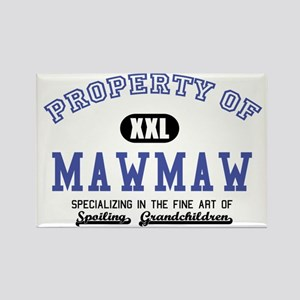 Property of MawMaw Rectangle Magnet