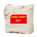 Boycott China-Mart! Tote Bag