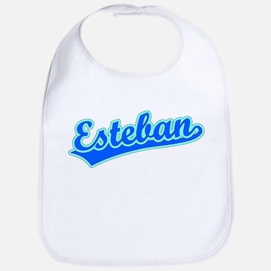 Retro Esteban (Blue) Bib