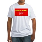 Boycott China-Mart Fitted T-Shirt