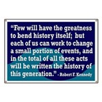 Robert F. Kennedy Quotation Banner