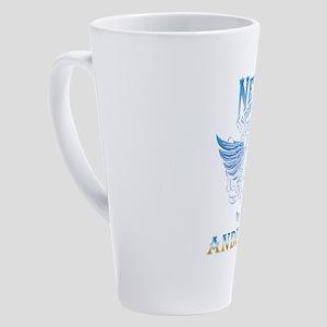 Never underestimate the power of a 17 oz Latte Mug
