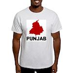 Punjab Ash Grey T-Shirt