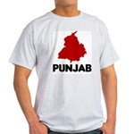 Punjab Ash Grey T-Shirt